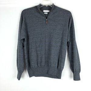 Peter Millar 1/4 Zip Sweater Merino Long Sleeve
